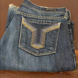 Wide legged jeans. Citizens of humanity.